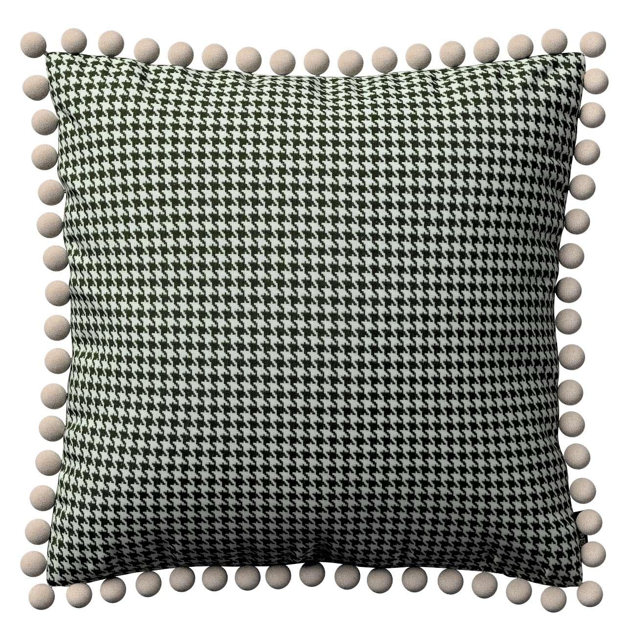 Viera s brmbolcami V kolekcii Black & White, tkanina: 142-77