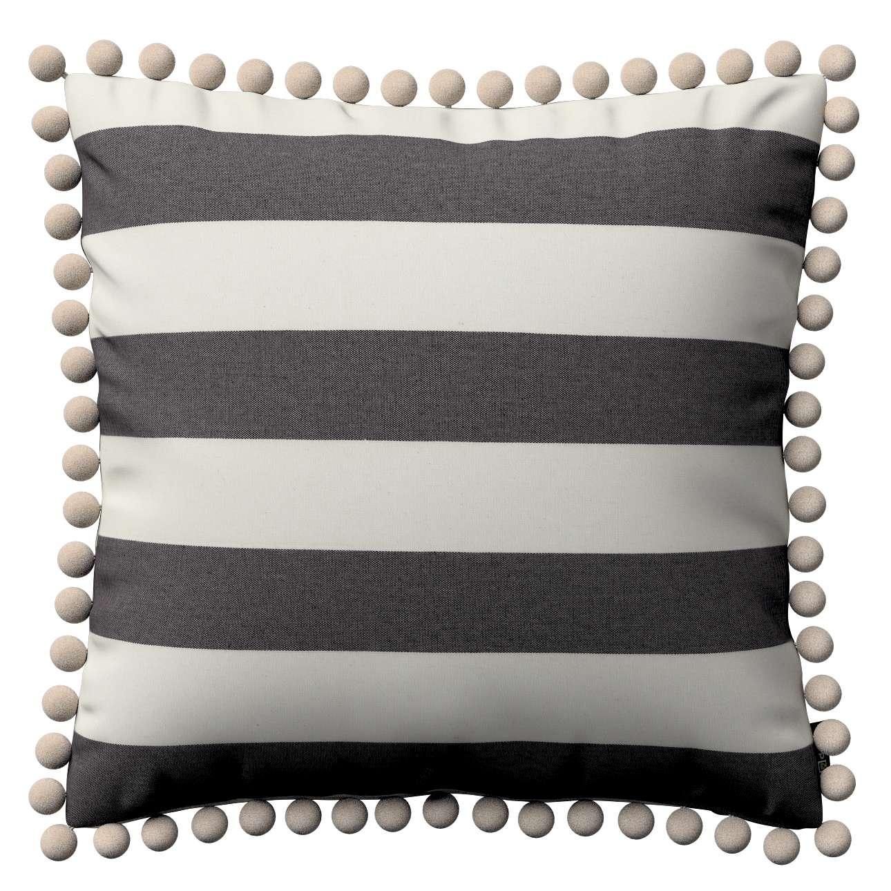 Poszewka Wera na poduszkę w kolekcji Quadro, tkanina: 142-72