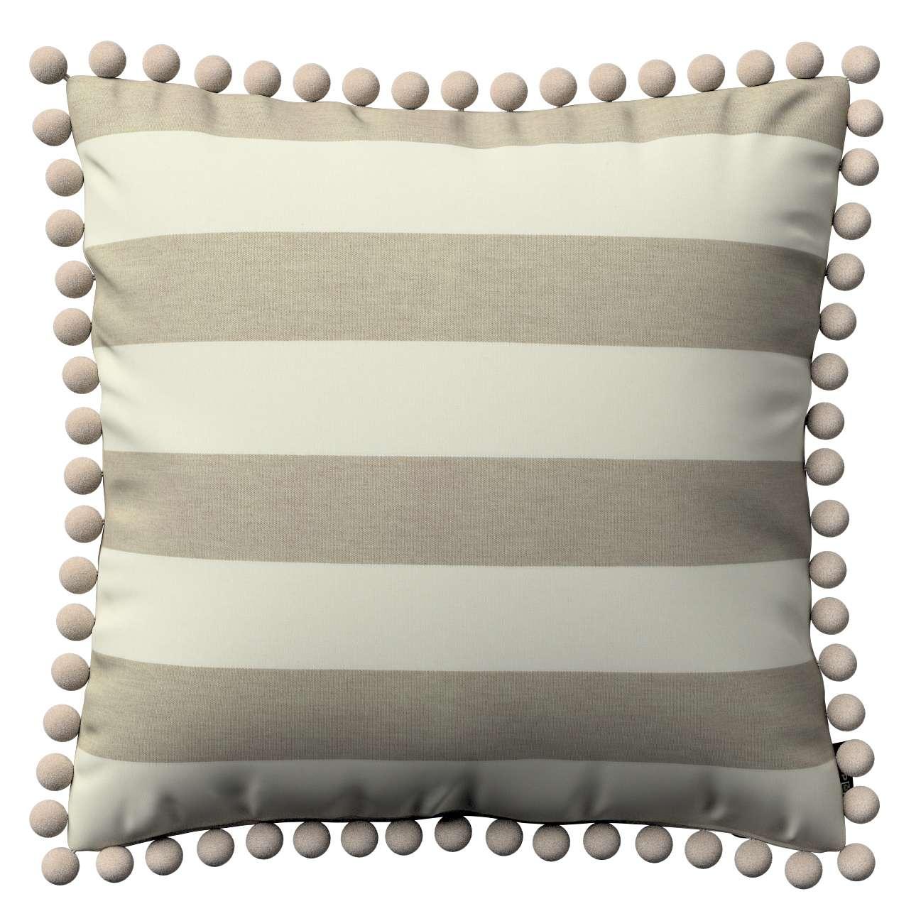 Viera s brmbolcami V kolekcii Quadro, tkanina: 142-73