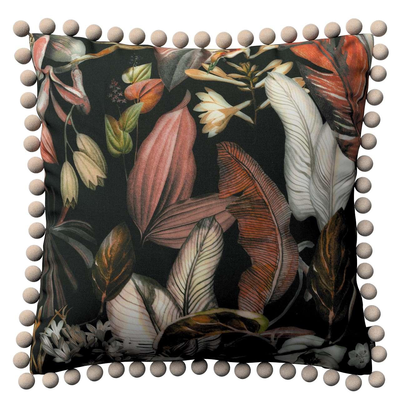 Viera s brmbolcami V kolekcii Abigail, tkanina: 143-10