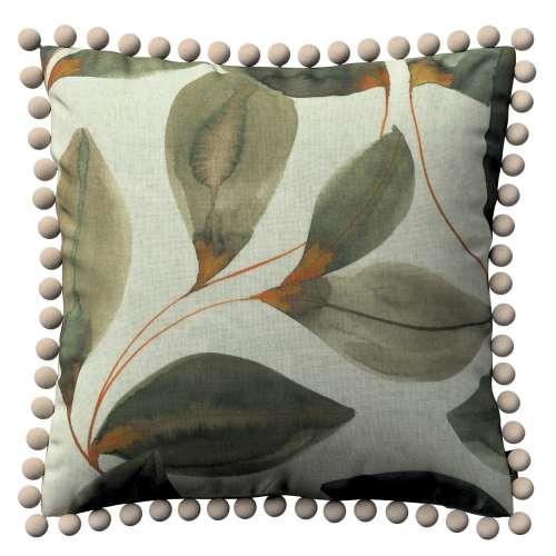 Kissenhülle Wera mit Bommeln