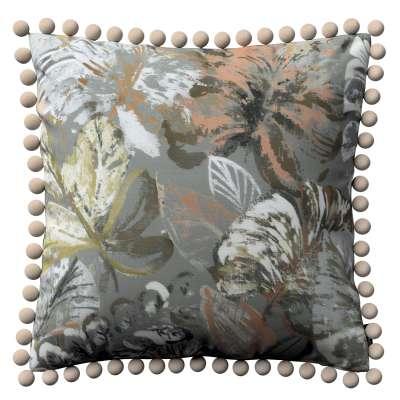 Kussenhoes Wera met pompons