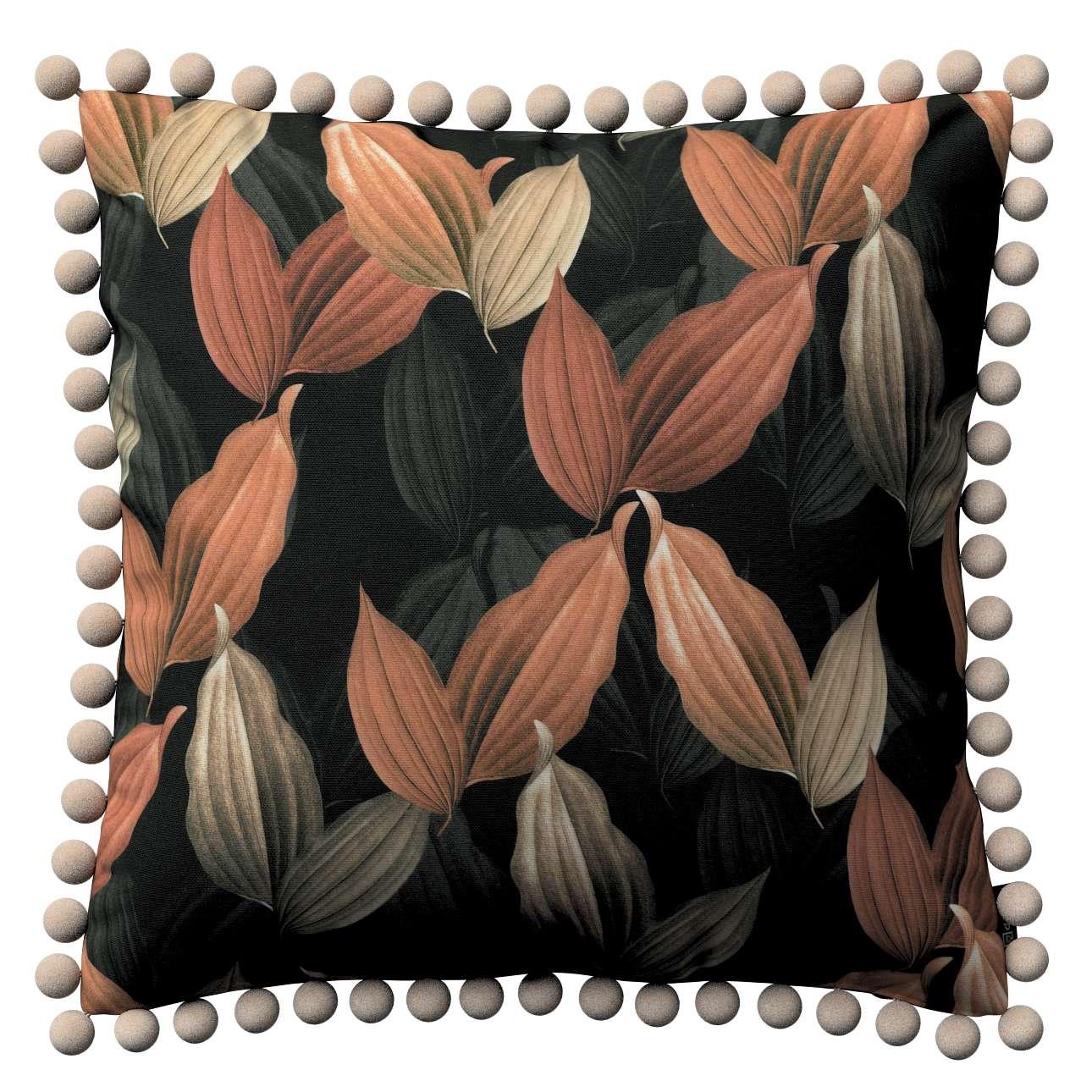Viera s brmbolcami V kolekcii Abigail, tkanina: 143-21