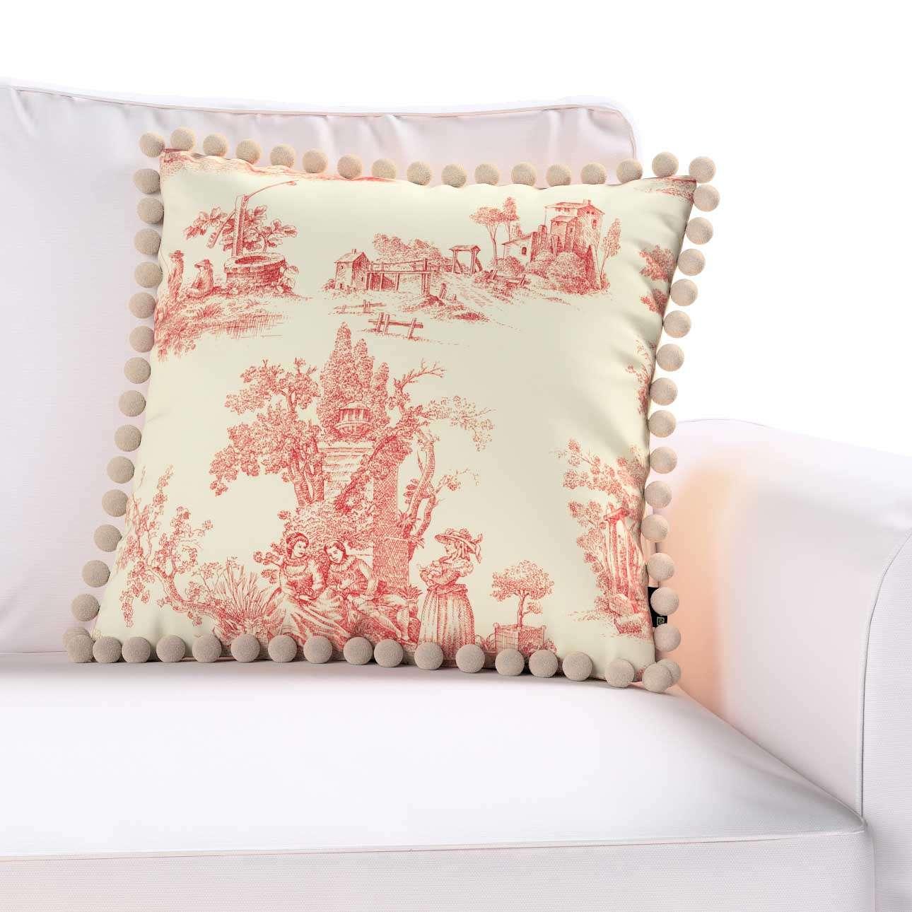 Poszewka Wera na poduszkę w kolekcji Avinon, tkanina: 132-15