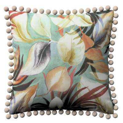 Viera s brmbolcami V kolekcii Abigail, tkanina: 143-61