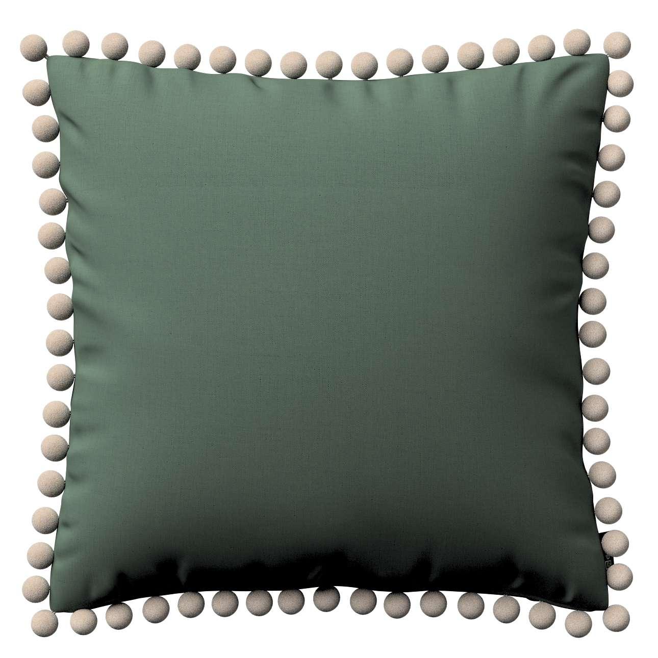 Viera s brmbolcami V kolekcii Linen, tkanina: 159-08