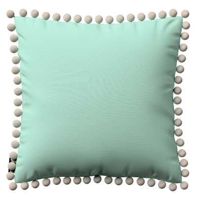 Daisy cushion covers with pom poms in collection Happiness, fabric: 133-37