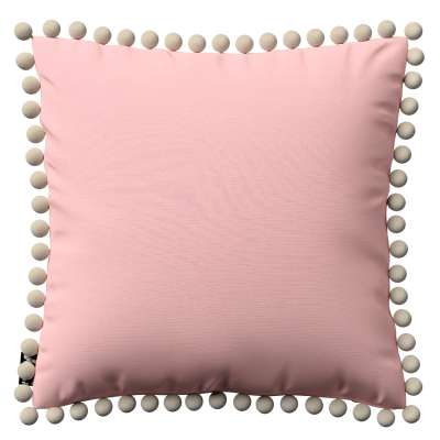 Daisy cushion covers with pom poms in collection Happiness, fabric: 133-39