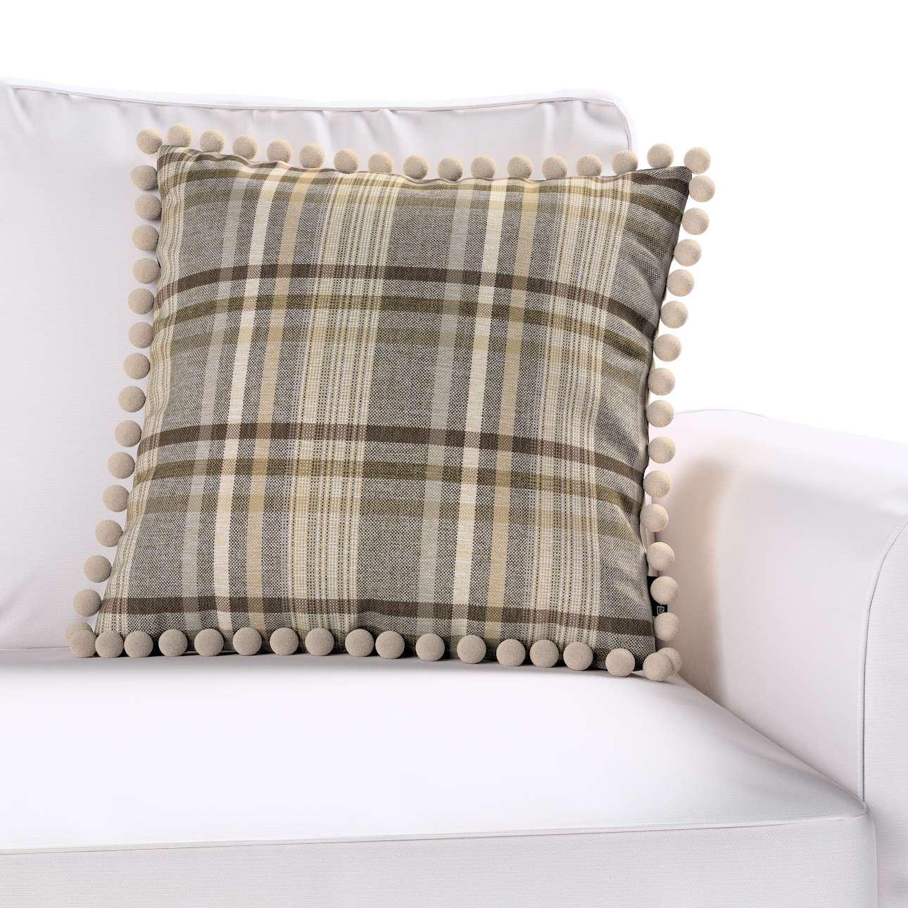 Poszewka Wera na poduszkę w kolekcji Edinburgh, tkanina: 703-17