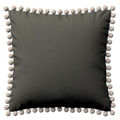 Poszewka Wera na poduszkę 161-55 ciemny szary Kolekcja Living