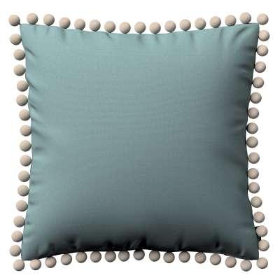 Viera s brmbolcami V kolekcii Cotton Panama, tkanina: 702-40
