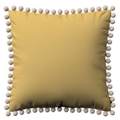 Viera s brmbolcami V kolekcii Cotton Panama, tkanina: 702-41