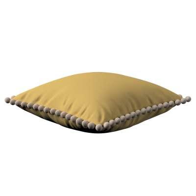 Poszewka Wera na poduszkę 702-41 zgaszony żółty Kolekcja Cotton Panama