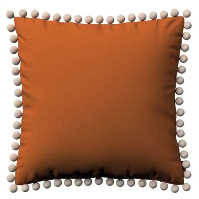 Poszewka Wera na poduszkę 702-42 rudy Kolekcja Cotton Panama