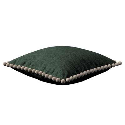 Poszewka Wera na poduszkę 704-81 leśna zieleń szenil Kolekcja City