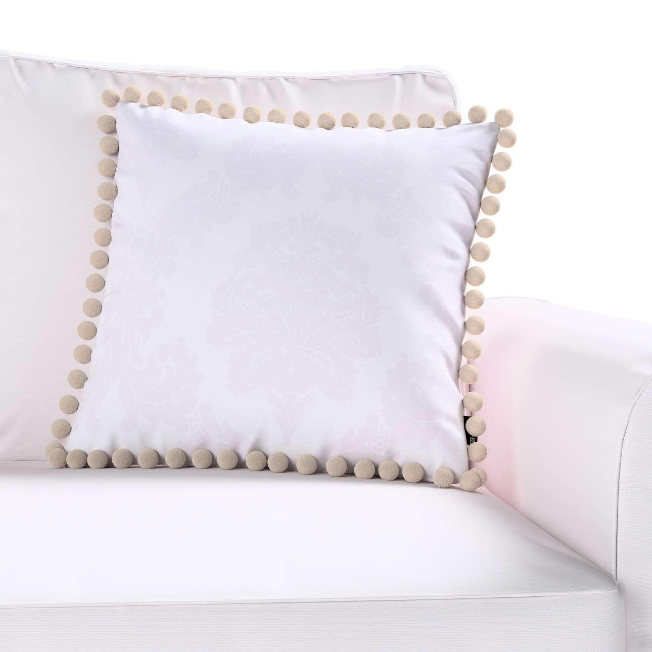 Poszewka Wera na poduszkę 45 x 45 cm w kolekcji Damasco, tkanina: 613-00