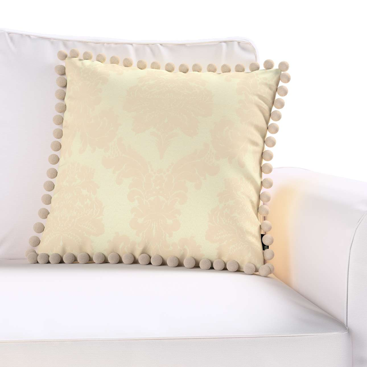 Poszewka Wera na poduszkę 45 x 45 cm w kolekcji Damasco, tkanina: 613-01