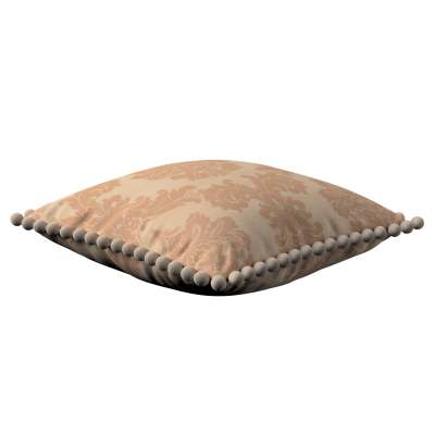 Poszewka Wera na poduszkę 613-04 jasno-brązowy Kolekcja Damasco