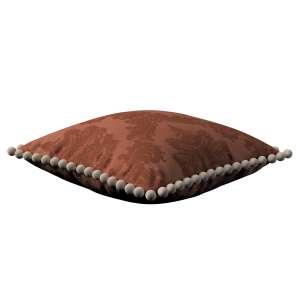 Wera dekoratyvinės pagalvėlės užvalkalas su žaismingais kraštais 45 x 45 cm kolekcijoje Damasco, audinys: 613-88