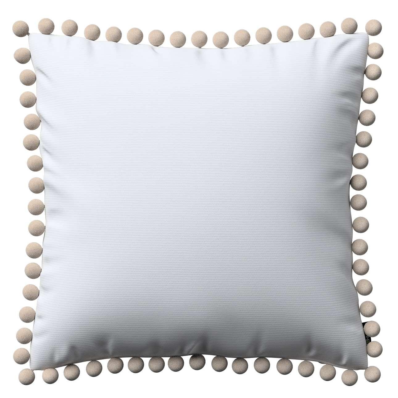 Poszewka Wera na poduszkę 45 x 45 cm w kolekcji Jupiter, tkanina: 127-01