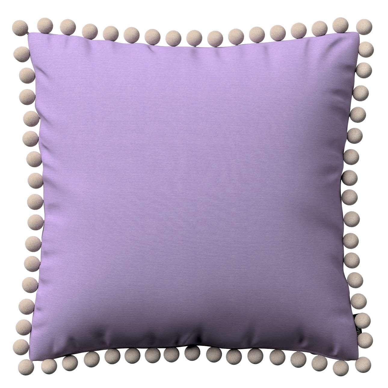 Wera dekoratyvinės pagalvėlės su žaismingais kraštais 45 x 45 cm kolekcijoje Jupiter, audinys: 127-74