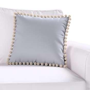 Wera dekoratyvinės pagalvėlės užvalkalas su žaismingais kraštais kolekcijoje Jupiter, audinys: 127-92
