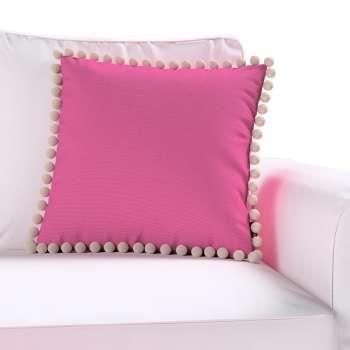 Wera dekoratyvinės pagalvėlės užvalkalas su žaismingais kraštais 45 × 45 cm kolekcijoje Jupiter, audinys: 127-24
