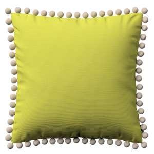 Wera dekoratyvinės pagalvėlės užvalkalas su žaismingais kraštais 45 x 45 cm kolekcijoje Jupiter, audinys: 127-50