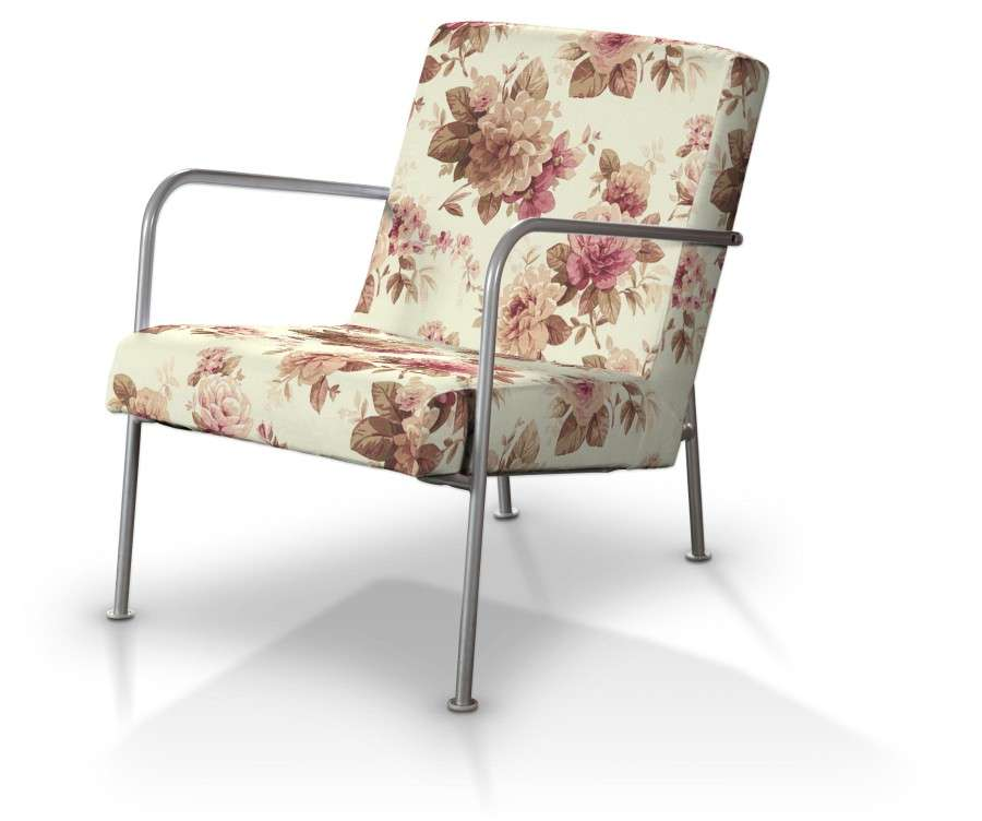Pokrowiec na fotel Ikea PS w kolekcji Mirella, tkanina: 141-06