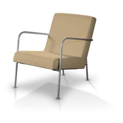 IKEA PS fotelio užvalkalas 702-01 smėlio/kapučino Kolekcija Cotton Panama