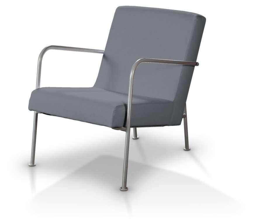 Pokrowiec na fotel Ikea PS w kolekcji Cotton Panama, tkanina: 702-07