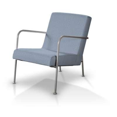 Pokrowiec na fotel Ikea PS w kolekcji Chenille, tkanina: 702-13
