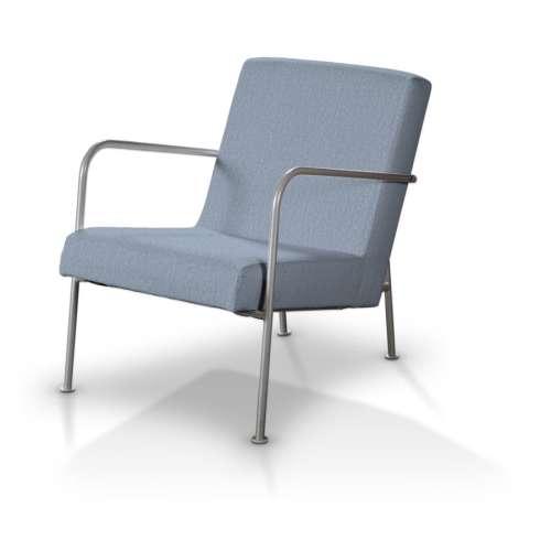 Ikea PS Sesselbezug, silber- blau, Ikea Sessel PS, Chenille