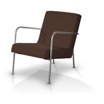 IKEA PS fotelio užvalkalas 702-18 šokoladinės spalvos šenilinis audinys Kolekcija Chenille