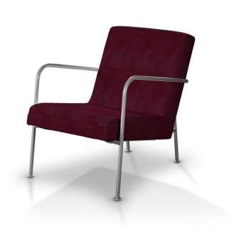 Pokrowiec na fotel Ikea PS w kolekcji Chenille, tkanina: 702-19