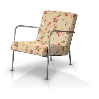 Pokrowiec na fotel Ikea PS w kolekcji Londres, tkanina: 124-05