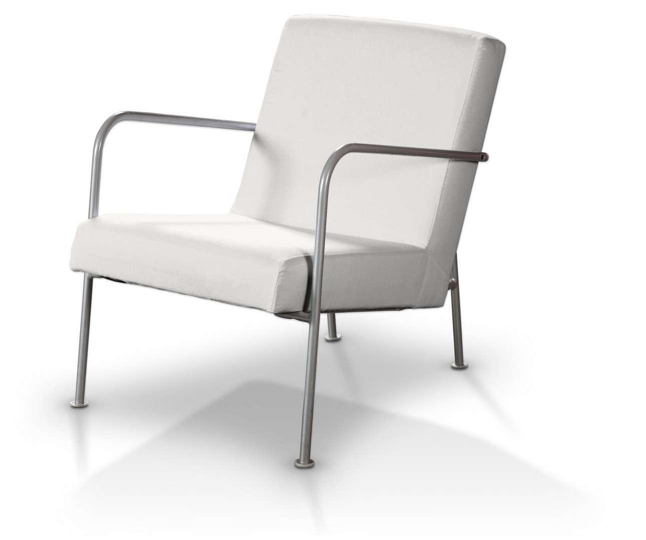 Pokrowiec na fotel Ikea PS w kolekcji Cotton Panama, tkanina: 702-34