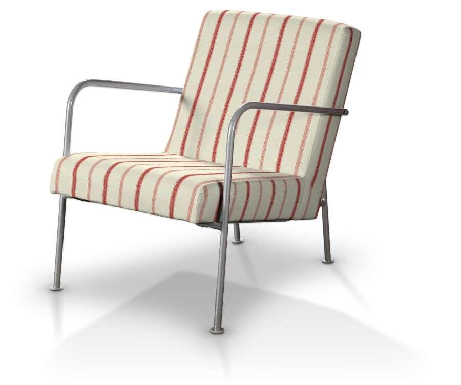 Pokrowiec na fotel Ikea PS w kolekcji Avinon, tkanina: 129-15