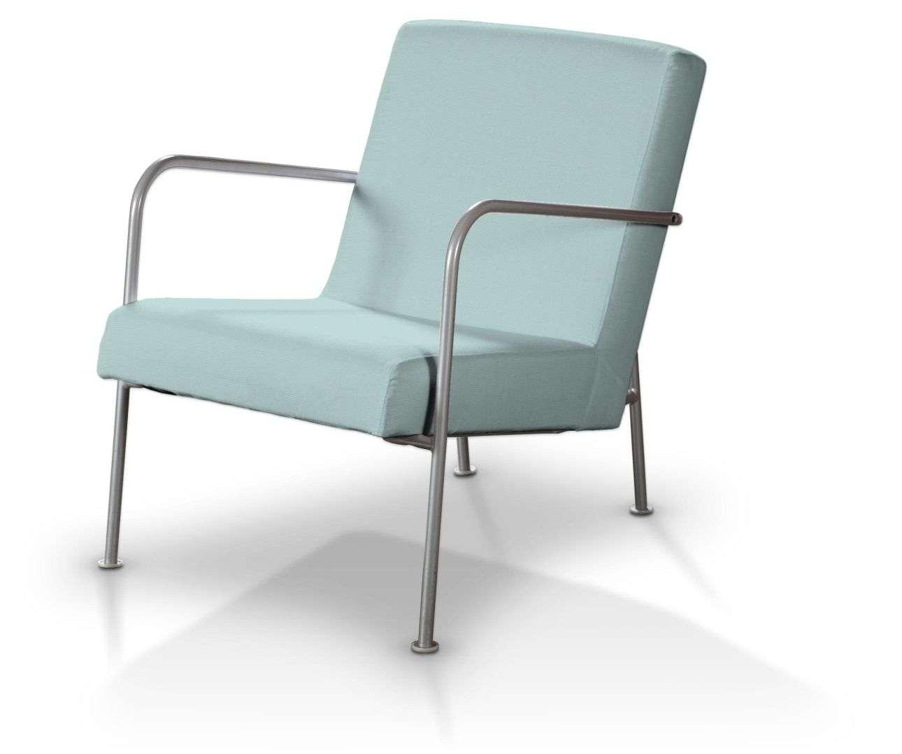 Pokrowiec na fotel Ikea PS w kolekcji Cotton Panama, tkanina: 702-10