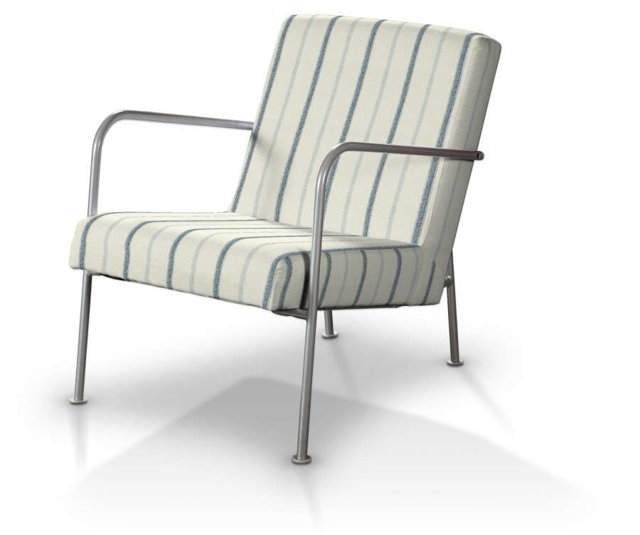 Pokrowiec na fotel Ikea PS w kolekcji Avinon, tkanina: 129-66