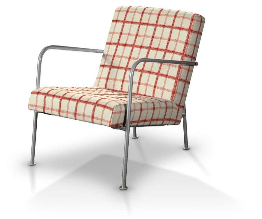 Potah na křeslo Ikea PS v kolekci Avignon, látka: 131-15