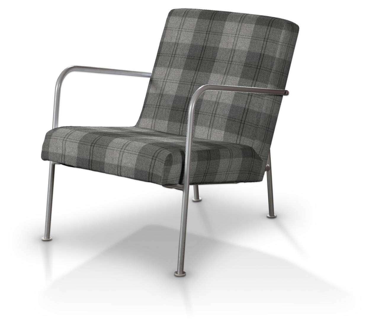 Pokrowiec na fotel Ikea PS w kolekcji Edinburgh, tkanina: 115-75