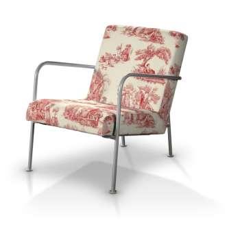 Pokrowiec na fotel Ikea PS w kolekcji Avinon, tkanina: 132-15