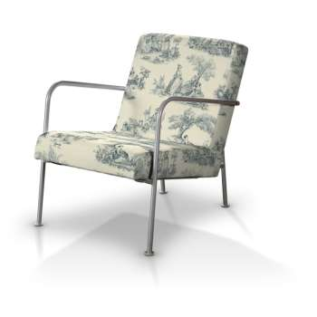 Pokrowiec na fotel Ikea PS fotel Ikea PS w kolekcji Avinon, tkanina: 132-66
