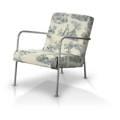 Pokrowiec na fotel Ikea PS w kolekcji Avinon, tkanina: 132-66