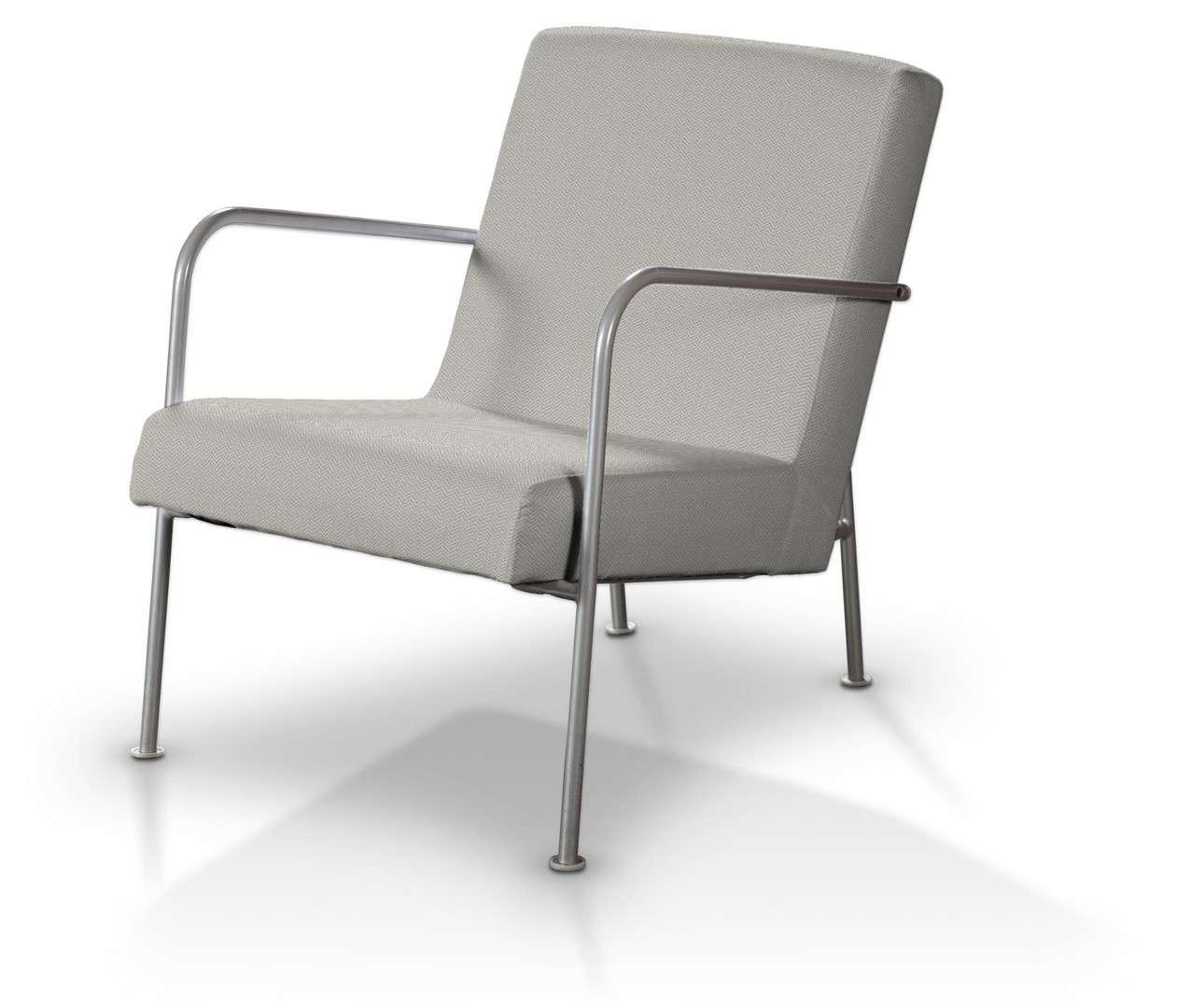 Pokrowiec na fotel Ikea PS w kolekcji Bergen, tkanina: 161-84