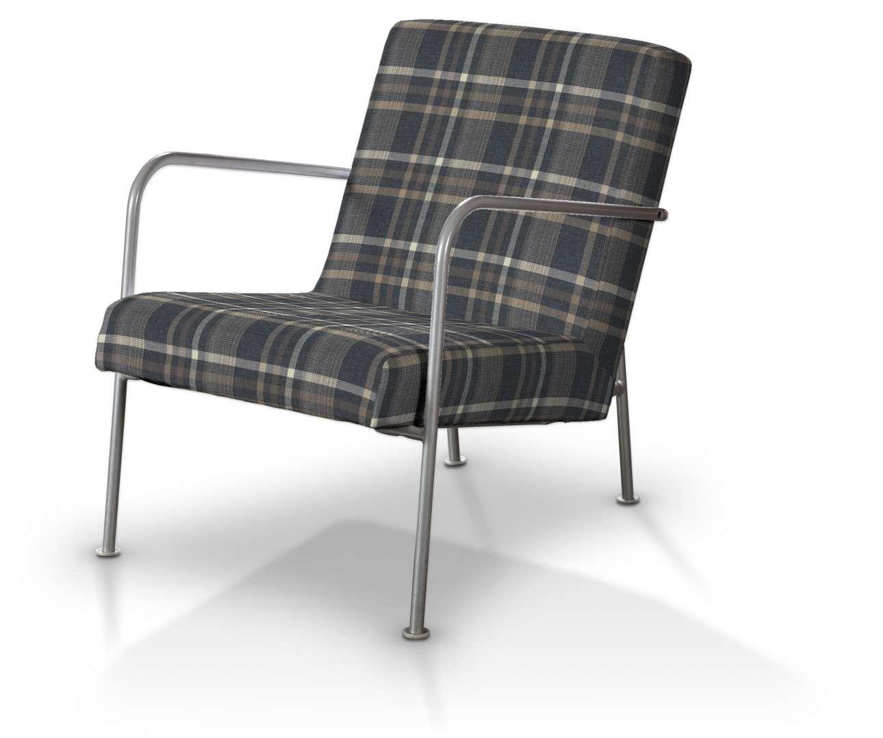 Pokrowiec na fotel Ikea PS w kolekcji Edinburgh, tkanina: 703-16