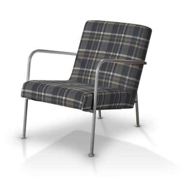Potah na křeslo Ikea PS v kolekci Edinburgh, látka: 703-16