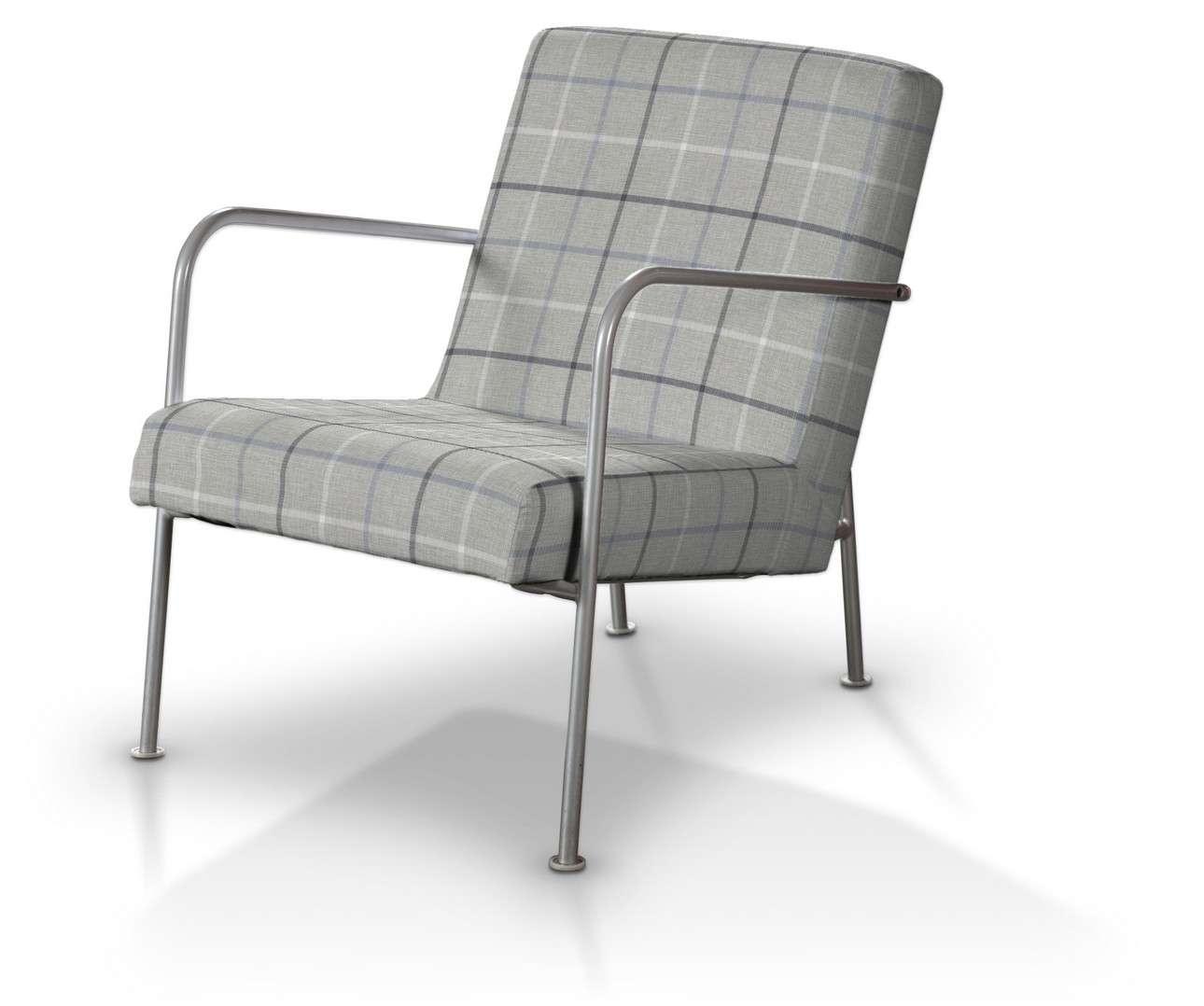 Potah na křeslo Ikea PS v kolekci Edinburgh, látka: 703-18