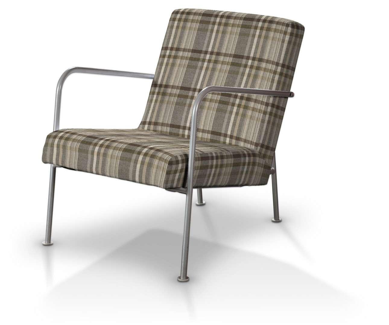 Pokrowiec na fotel Ikea PS w kolekcji Edinburgh, tkanina: 703-17